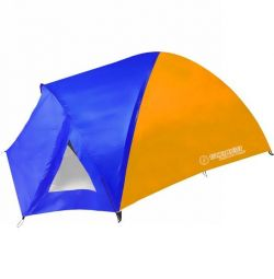 Tent camping 4-seater 2-layer Kama