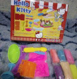 Набор Hello Kitty, для создания мороженого