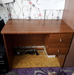 Writing table with two drawers table width 53 × 96
