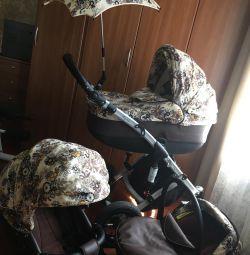 Cradle + καροτσάκι + κάθισμα αυτοκινήτου + ομπρέλα