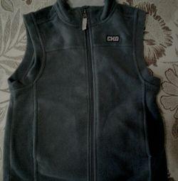 Fleece baby waistcoat