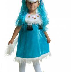 Детский карнавальный костюм пони девочка