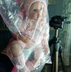 Νέα κούκλα Reborn, 55cm, βάρος 1300