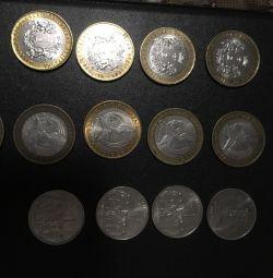 Νομίσματα + Τραπεζογραμμάτια
