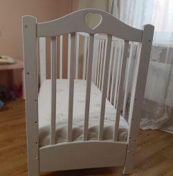 Crib - a rocking chair with a box