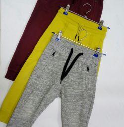 Pants sport for girls.