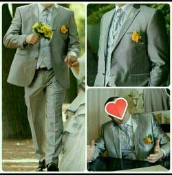 Men's wedding suit Italian