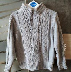 Классный свитер Sela р.98-104