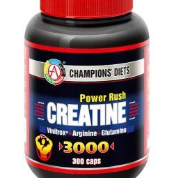 Креатин CREATINE Power Rush 3000 300 капсул