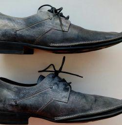 Hafif deri ayakkabılar Elche Collection İspanya s.43
