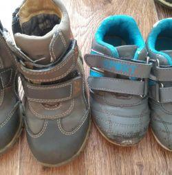 Pantofi + adidași (ca cadou)