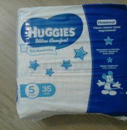 Diapers hagis ultra comfort for boys35 pcs