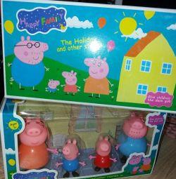 Οικογένεια Peppa Pig.