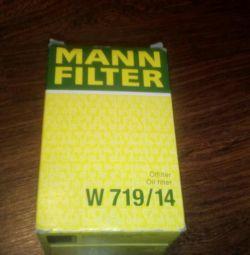 Oil filter MANN W719 / 14