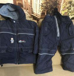 Jumpsuit + jacket