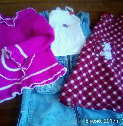 Îmbrăcăminte pentru fete de la 6 luni.