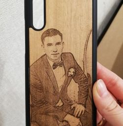 Cases engraved on iPhone