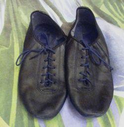 Pantofi din piele pentru încălțăminte de 22 cm