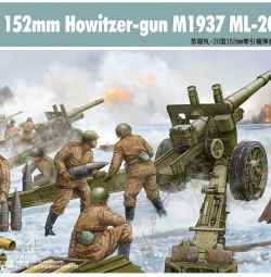 ML-20 Soviet 152 mm howitzer model 1937