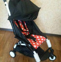 Uowo stroller for flight