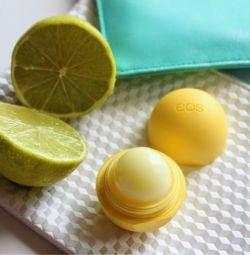 Lip balm, lemon