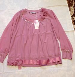 New blouses r 60 for 1200 rubles.