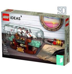 Tasarımcı LEGO 21313 Bir şişe içinde gemi