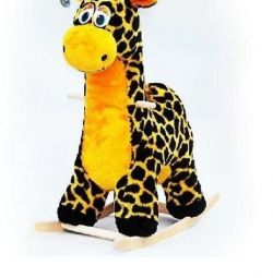 Balansoar scaun moale Giraffe