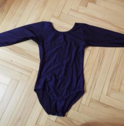 Gymnastic swimsuit for dancing (body) 4-6 years