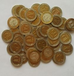 50 de monede bimetale