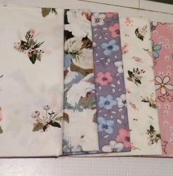 YENİ patchwork kumaş (6 adet)