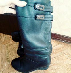 Winter boots p 35 natural cigarette bu