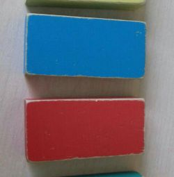 🔶🔷 Cubes of the USSR wooden 1970s