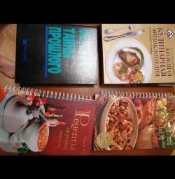 Recipes etc thick books new