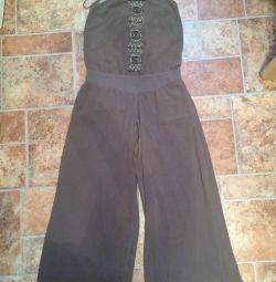 Pantaloni scurți de salopetă