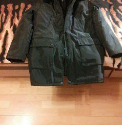 Jacheta bărbatului 3 în unul (toamnă-iarnă-primăvară) nou.