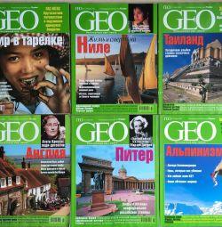 Журнал GEO 2003 рік