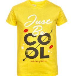 Φωτεινό μπλουζάκι για κορίτσια