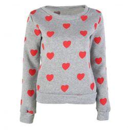 Пуловер в двух расцветках