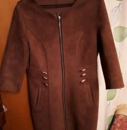 Hafif süet ceket