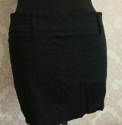 Φούστα μαύρο ίσιο μέγεθος 44