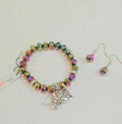 Bracelet + Earring Set