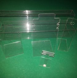 jewelry stands (plastic)