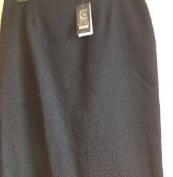 Новая тeплая юбка р 58
