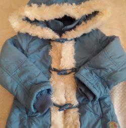 Jacheta toamnă-primăvară pe un iernier sintetic