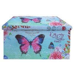 PU STOCK WITH BUTTERFLY 80X40 STORAGE SPACE