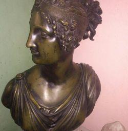 Статуя Психея. Бронза.