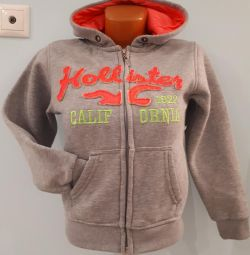 Sweatshirt with fleece 152-158
