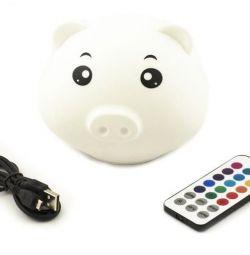 Светильник USB на пду Свинка