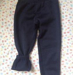 Новые, теплые штаны на флисе Pepco Польша